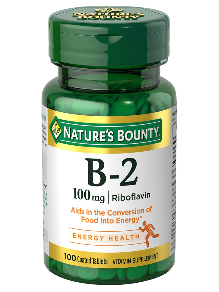 B 2 100 MG NAT BOUNTY 100 TABS – Vitasalud